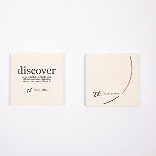 TK Collection Taş Bardak Altlığı 2'li Set . ürün görseli