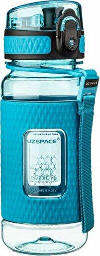 Uzspace Tritan 5043 350 ML Mavi Matara. ürün görseli
