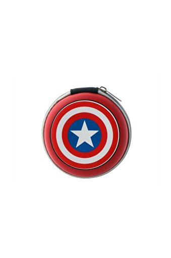 Volkano Marvel Avengers Captain America Kulakiçi Kulaklık Çantalı Lisanslı Mv-1008-ca. ürün görseli