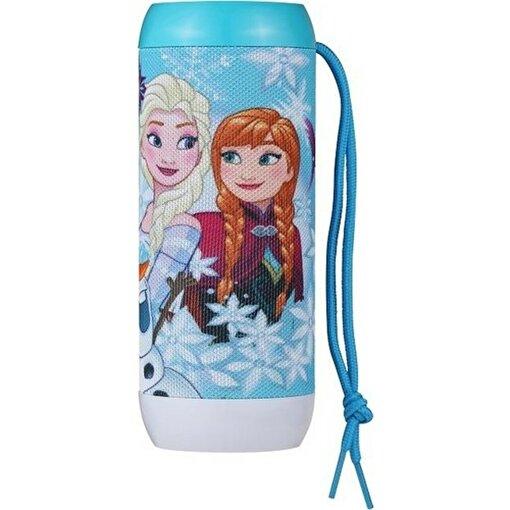Volkano Disney Frozen Karlar Ülkesi Bluetooth Hoparlör Lisanslı Radyolu USBli Işıklı DY-1012-fr. ürün görseli