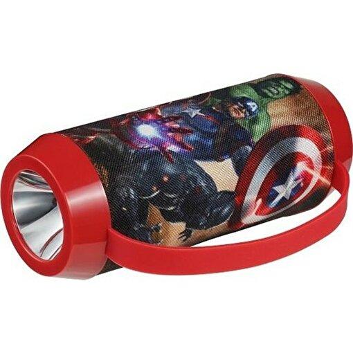 Volkano Marvel Avengers Yenilmezler Bluetooth Hoparlör El Feneri. ürün görseli