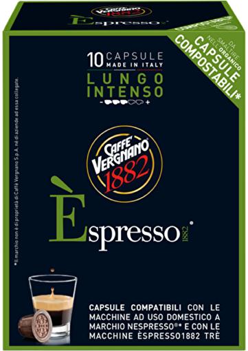 Caffe Vergnano Espresso 1882 Intenso Lungo Kapsül. ürün görseli