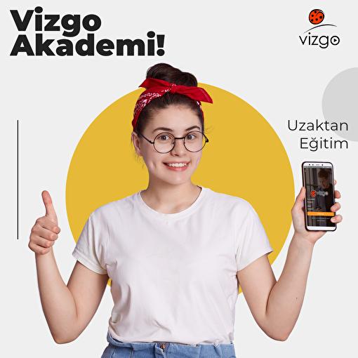 Vizgo Akademi Online (Uzaktan Eğitim) 1 yıllık Abonelik Paketi. ürün görseli