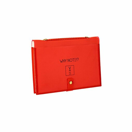 Whynote Notebook Bag Red CardWish. ürün görseli