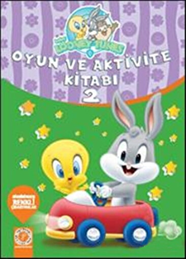 Baby Looney Tunes- Oyun ve Aktivite Kitabı 2. ürün görseli