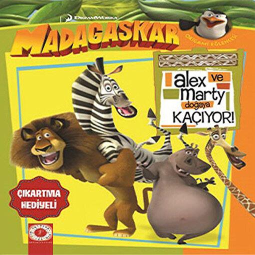 Alex ve Marty Doğaya Kaçıyor. ürün görseli