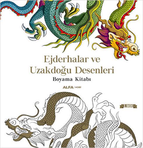 Ejderhalar ve Uzakdoğu Desenleri - Kolektif. ürün görseli