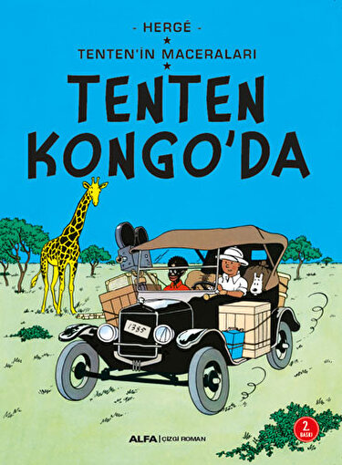 Tenten'in Maceraları 2 - Tenten Kongo'da. ürün görseli