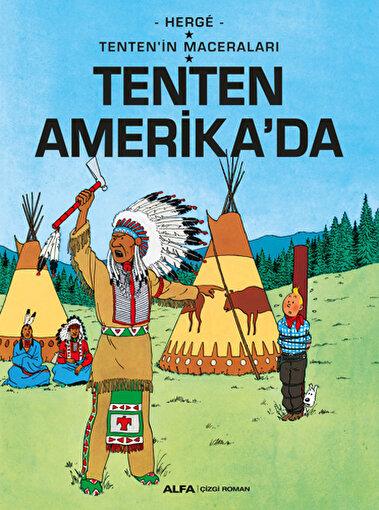 Tenten'in Maceraları 3 - Tenten Amerika'da . ürün görseli