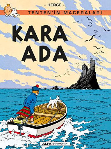 Tenten'in Maceraları 7 - Kara Ada. ürün görseli
