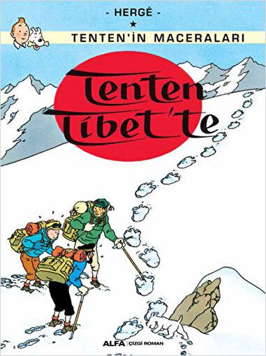 Tenten'in Maceraları 20 - Tenten Tibet'te. ürün görseli