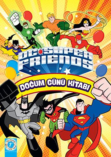 DC Super Friends - Doğum Günü Kitabı. ürün görseli