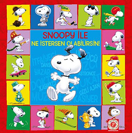 Snoopy ile Ne İstersen Olabilirsin!. ürün görseli