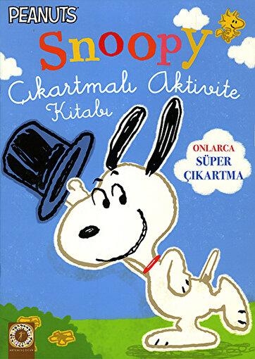 Snoopy Çıkartmalı Aktivite Kitabı. ürün görseli