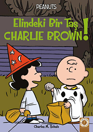 Peanuts - Elindeki Bir Taş Charlie Brown!. ürün görseli