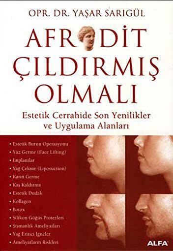 Afrodit Çıldırmış Olmalı - Yaşar Sarıgül. ürün görseli