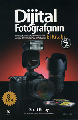 Dijital Fotoğrafçının El Kitabı - Cilt 2 - Scott Kelby. ürün görseli