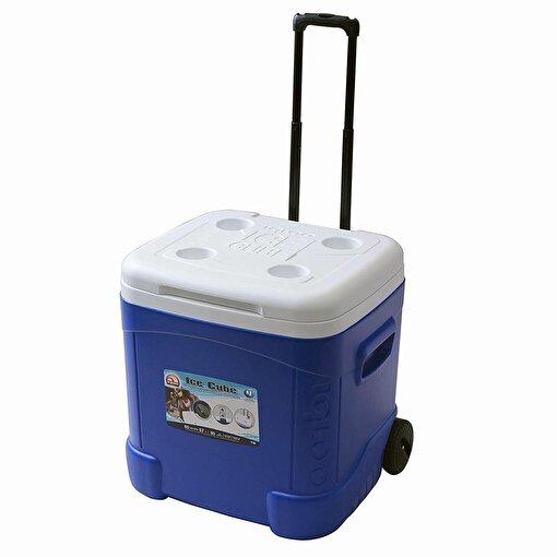 Igloo 60 QT Ice Cube Tekerlekli Buzluk 57 Litre-MAVİ. ürün görseli