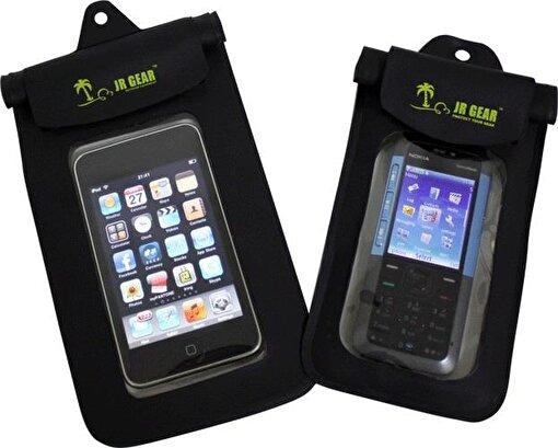 Jr Gear Su Geçirmez Telefon Kılıfı Büyük Boy-SİYAH. ürün görseli