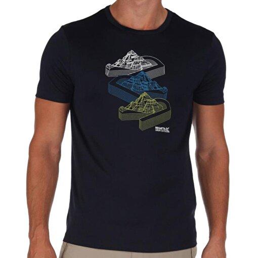 Regatta Fingal Erkek T-Shirt-LACİVERT. ürün görseli