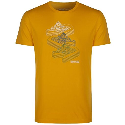Regatta Fingal Erkek T-Shirt-SARI. ürün görseli