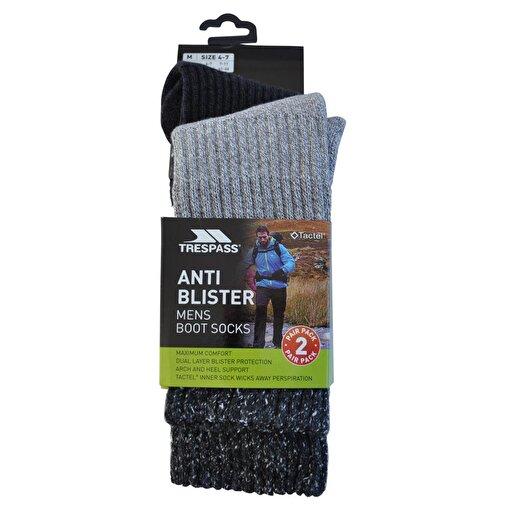 Trespass Erkek Çorabı 41-46 2 Çift. ürün görseli