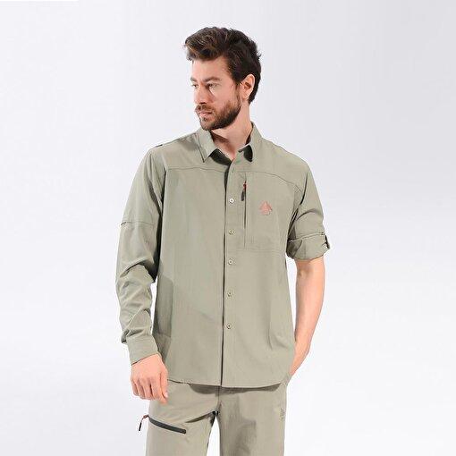 Berg Jomolh Erkek Gömlek-HAKİ. ürün görseli