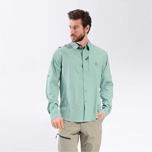 Berg Jomolh Erkek Gömlek-YEŞİL. ürün görseli