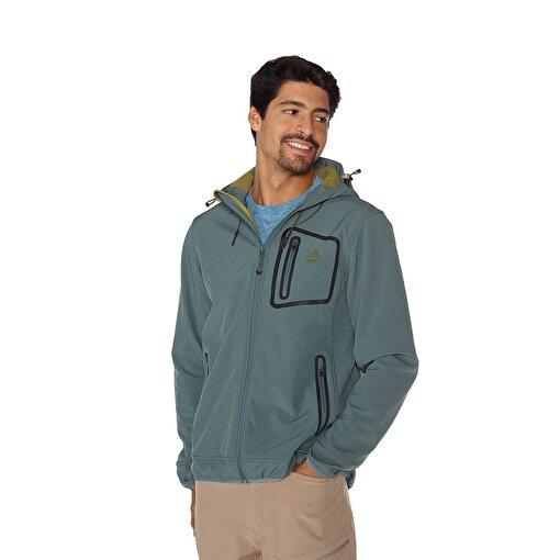 Berg Yukon Erkek Softshell Ceket-YEŞİL. ürün görseli