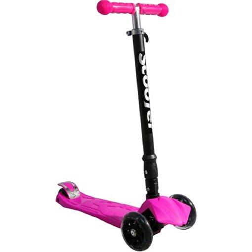 Xslide Işıklı Tekerlekli Scooter Pembe. ürün görseli
