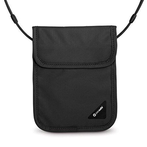 Pacsafe Coversafe X75 Anti-Theft Rfid BlocKing Boyun Çantası-SİYAH. ürün görseli
