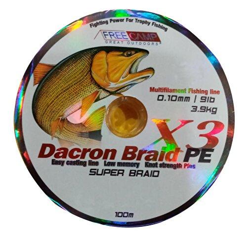 FreeCamp Dakron 100m 0.10mm Olta Misinası. ürün görseli