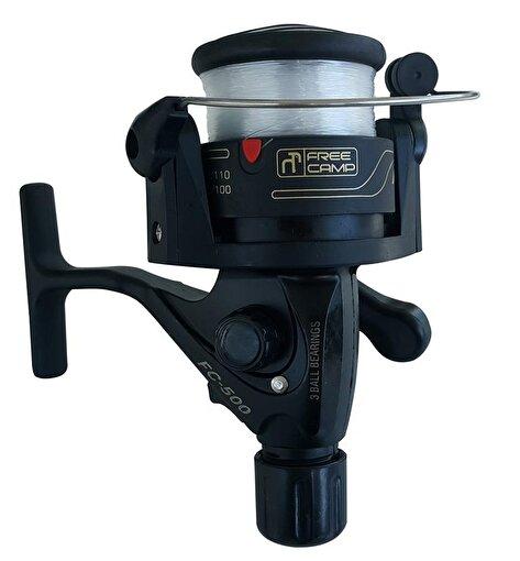FreeCamp FC-500 Misinalı Olta Makinesi-SİYAH. ürün görseli