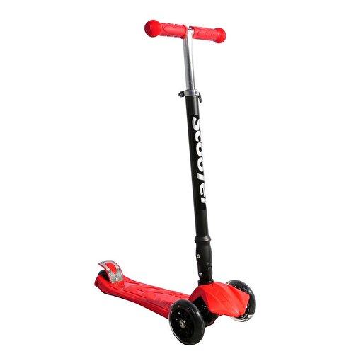 Xslide Işıklı Tekerlekli Scooter-KIRMIZI. ürün görseli