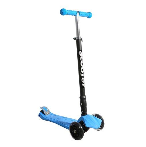 Xslide Işıklı Tekerlekli Scooter-MAVİ. ürün görseli