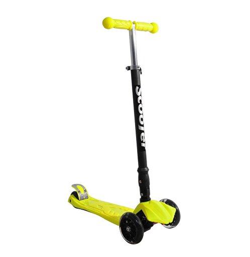 Xslide Işıklı Tekerlekli Scooter-SARI. ürün görseli