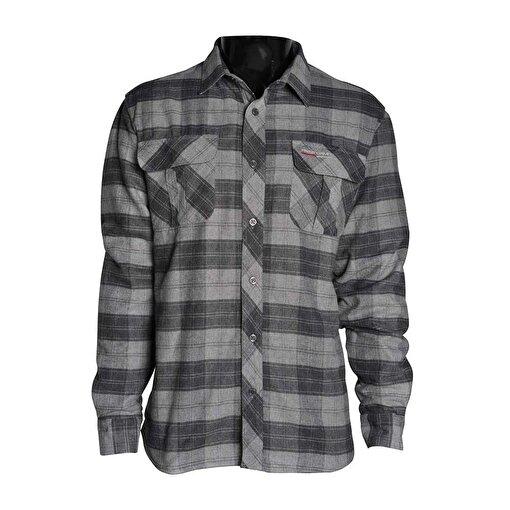 Freecamp Knit Man Fleece Shirt-GRİ. ürün görseli