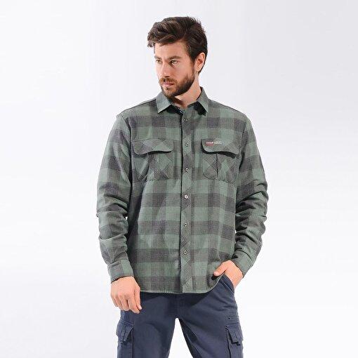Freecamp Knit Man Fleece Shirt-HAKİ. ürün görseli