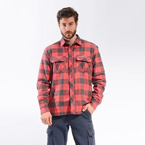 Freecamp Knit Man Fleece Shirt-KIRMIZI. ürün görseli