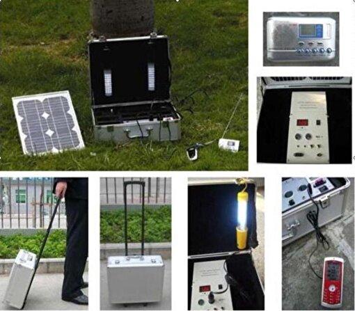 Green Solar 10W Çantalı Güneş Aydınlatma Seti AND202. ürün görseli