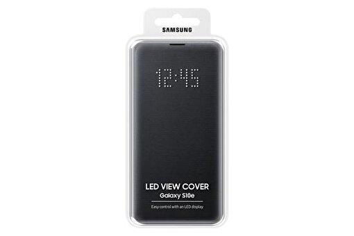 Samsung S10E Flat Led Wiew Cover Siyah. ürün görseli