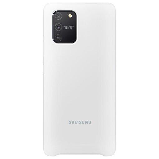 Samsung Galaxy S10 Lite Silikon Kılıf Beyaz. ürün görseli