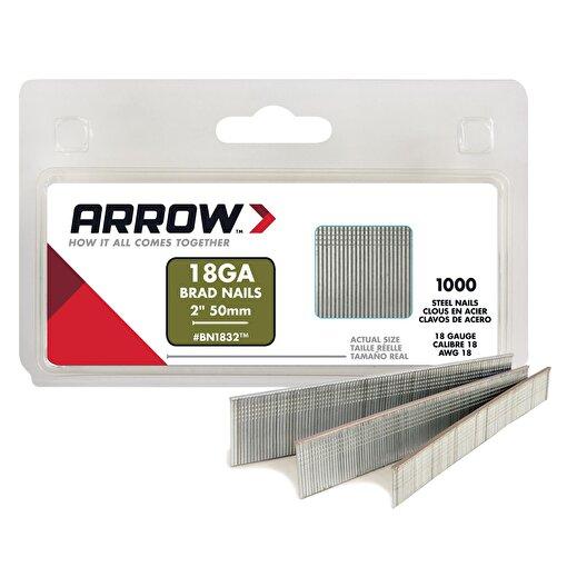 Arrow BN1832 50mm 1000 Adet Profesyonel Kesik Başlı Çivi . ürün görseli