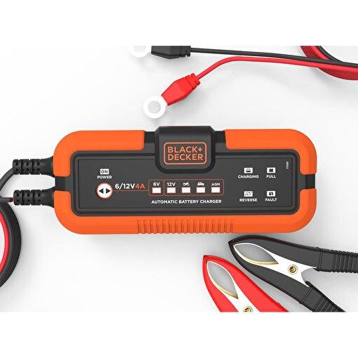BLACK+DECKER BXA22 6V/12V 120A Akıllı Akü Şarj ve Akü Bakım Cihazı. ürün görseli