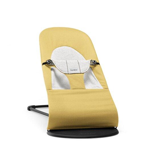BabyBjörn Balance Soft Ana Kucağı Cotton Jersey / Yellow Grey. ürün görseli