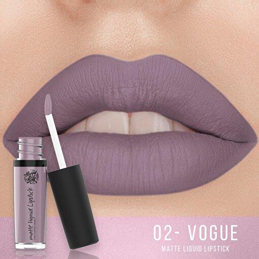 Happy Body Mat Vogue Kalıcı Likit Ruj 4.50 ml. ürün görseli