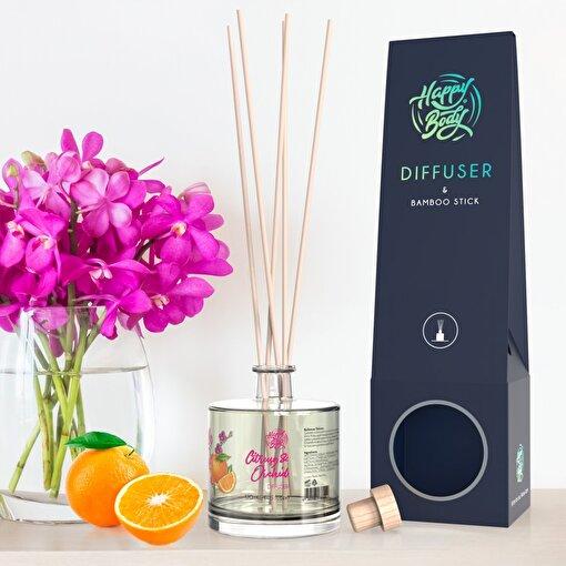 Happy Body Turunçgil & Orkide Oda Kokusu / Diffuser 120 ml. ürün görseli