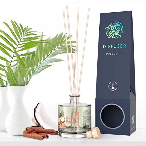 Happy Body Hindistan Cevizi & Sandal Ağacı Oda Kokusu 120 ml. ürün görseli