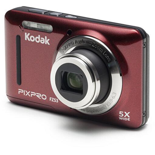 Kodak Friendly Zoom FZ53/5x Yakınlaştırma Dijital Fotoğraf Makinesi-Kırmızı. ürün görseli