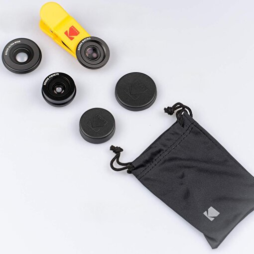 Akıllı Telefonlar için 3'lü Lens Seti. ürün görseli